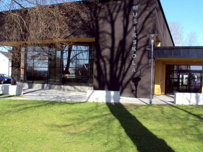 Musik skola byggnad